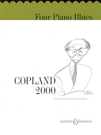 Four Piano Blues Aaron Copland