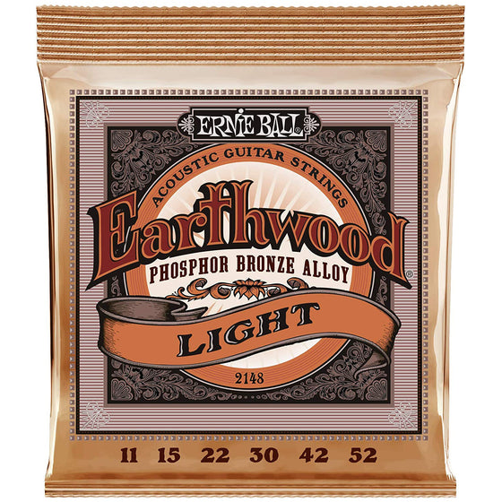 Ernie Ball Earthwood Phosphor Bronze Acoustic Strings (Light)