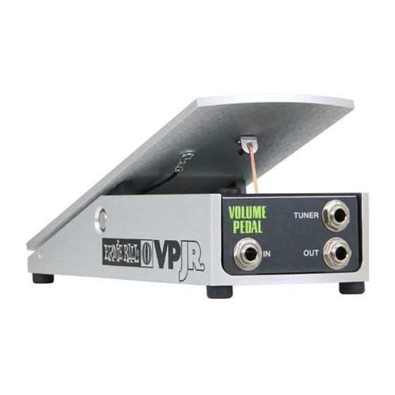Ernie Ball VPJR 250K Volume Pedal