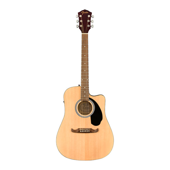 Fender FA-125CE Dreadnought Natural Acoustic Guitar