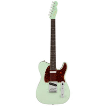 Fender Ultra Luxe Telecaster Transparent Surf Green Electric Guitar