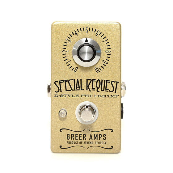 Greer Amps Special Request Clean Boost