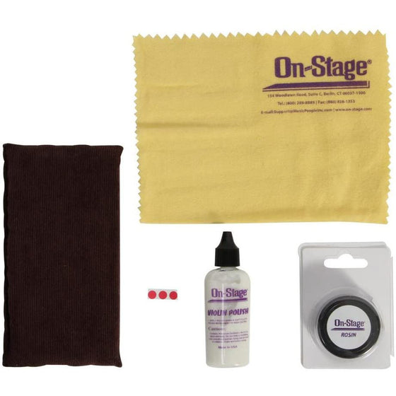 On-Stage Super Saver Violin Cleaning Kit
