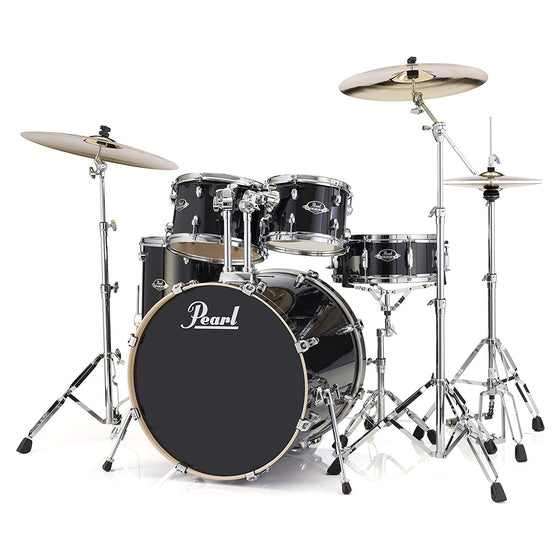 Pearl Export 5-Pc w/ Hardware Black Smoke
