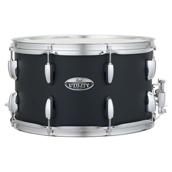 "Pearl Modern Utility Maple Snare 14"" x 8"" Satin Black"