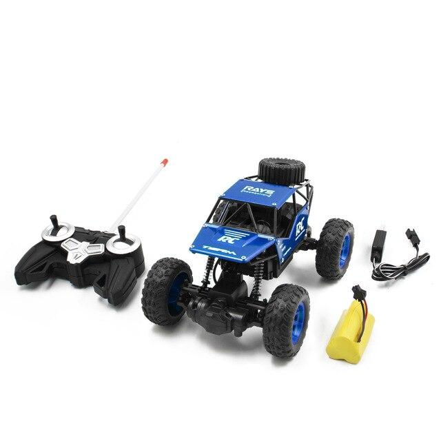 1 18 Rc Car Remote Control Bigfoot Off Road Vehicle 18km H High Speed Wowcoolid