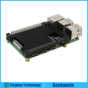 Embedded Armour Aluminium Alloy Heatsink Compatible with Raspberry Pi 4B - FreshTek Online