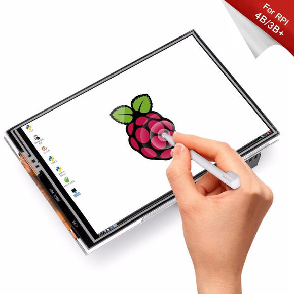 Raspberry Pi 3.5 inch Touch Screen TFT LCD suits all Pi versions includes stylus - FreshTek Online