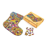 Christmas Stocking wooden puzzle