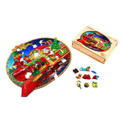 Christmas Train wooden puzzle