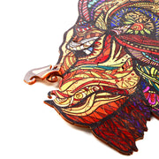 Colorful Lion wooden puzzle