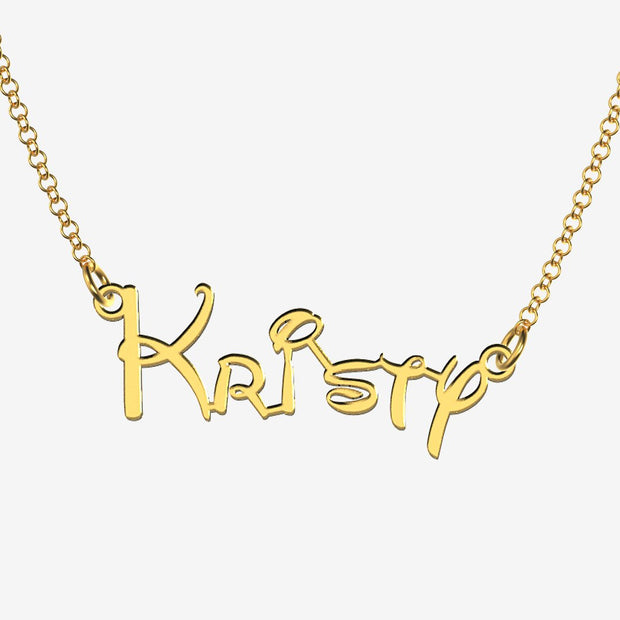 Kristy - Handmade Personalized Princess Style Name Necklace