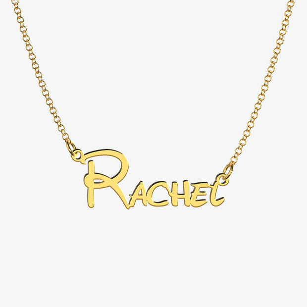 Rachel - Handmade Personalized Princess Style Name Necklace