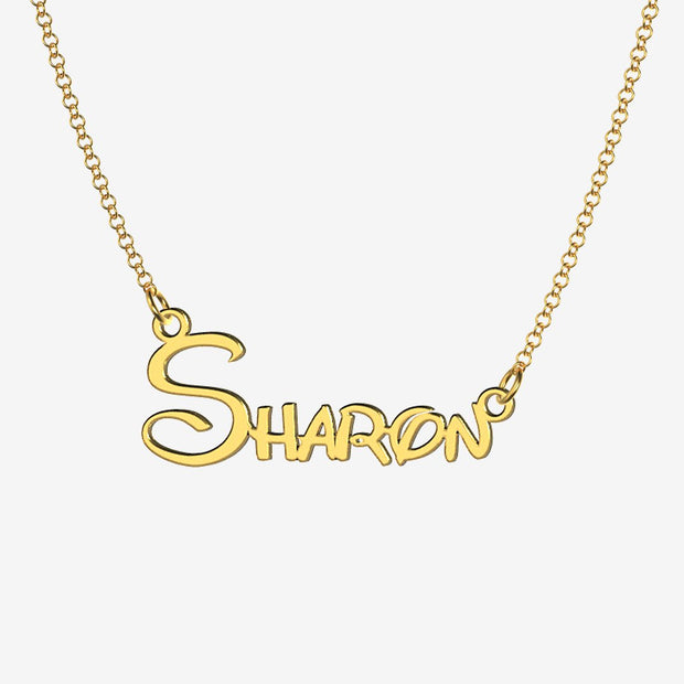 Sharon - Handmade Personalized Princess Style Name Necklace