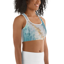 Load image into Gallery viewer, Crystal Dreams Sports Bra