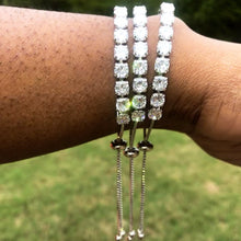 Load image into Gallery viewer, Adjustable Tennis Bracelet
