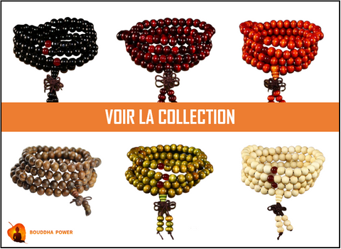 Collection Chapelets Bouddhistes