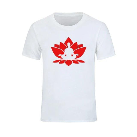 T-shirt Bouddha<br> Lotus