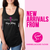 Faith-Filled, Yoga Strong Tank Top (Black)
