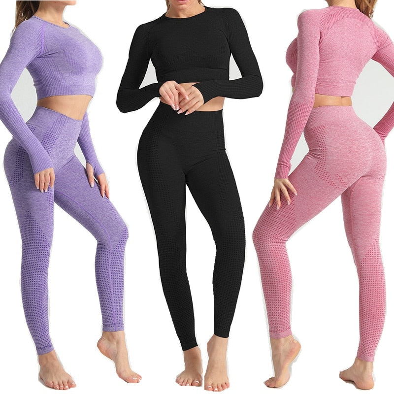 Seamless Fitness Yoga - Two Piece Set
