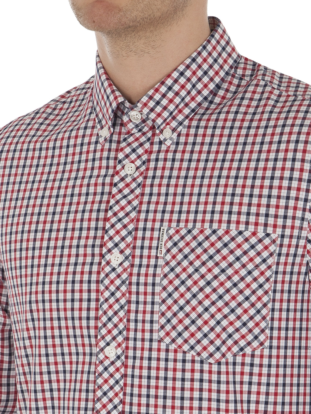 Long-Sleeve House Check Shirt