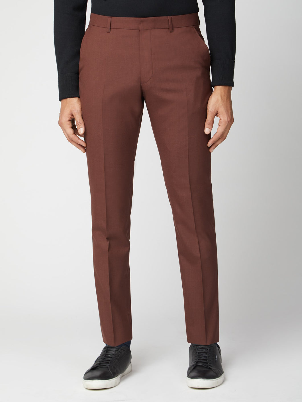 Tobacco Tonic Suit Trouser