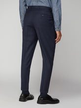 Load image into Gallery viewer, Navy Flannel Trouser