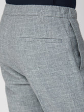 Load image into Gallery viewer, Light Grey Broken Check Suit Trouser