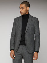 Load image into Gallery viewer, Charcoal Speckle Jacket