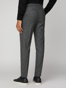 Charcoal Speckle Trousers