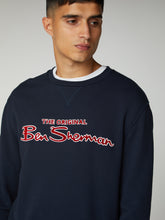 Load image into Gallery viewer, Crewneck Logo Sweatshirt