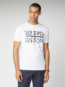 Union Jack Chevron Block Tee