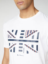 Load image into Gallery viewer, Union Jack Chevron Block Tee