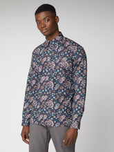 Load image into Gallery viewer, Long-Sleeve Multi Coloured Paisley Print Shirt