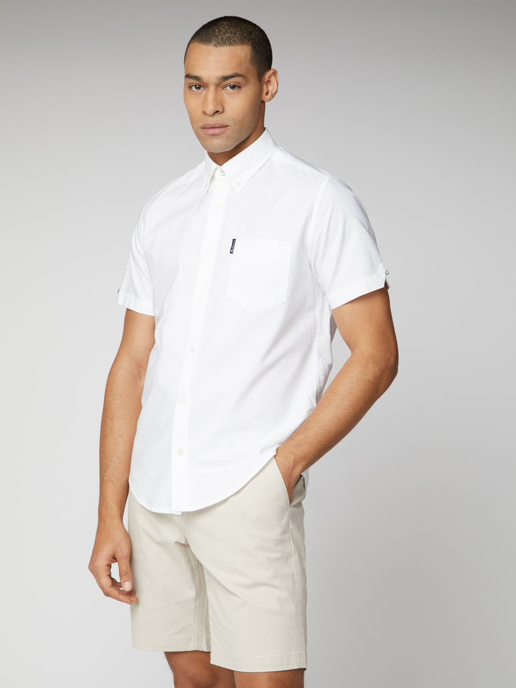 Short Sleeve Signature Oxford Shirt