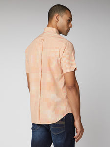 Short Sleeve Signature Gingham