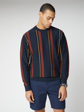 Load image into Gallery viewer, Knitted Mod Stripe Crew