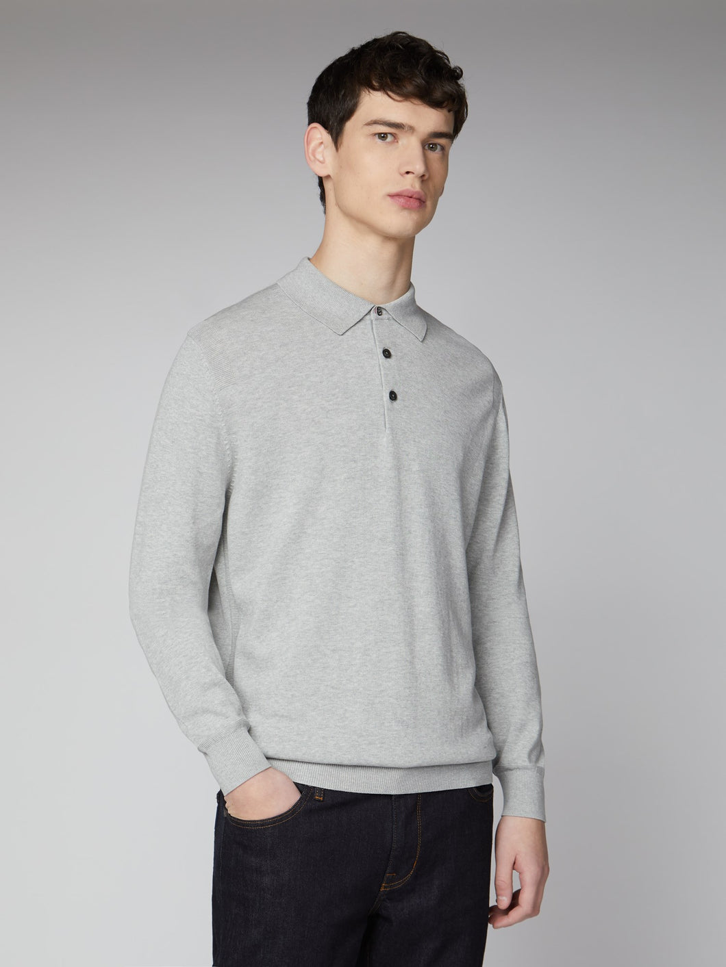 Signature Cotton Long Sleeve Sweater