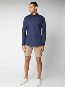 Long Sleeve Stretch Poplin Shirt