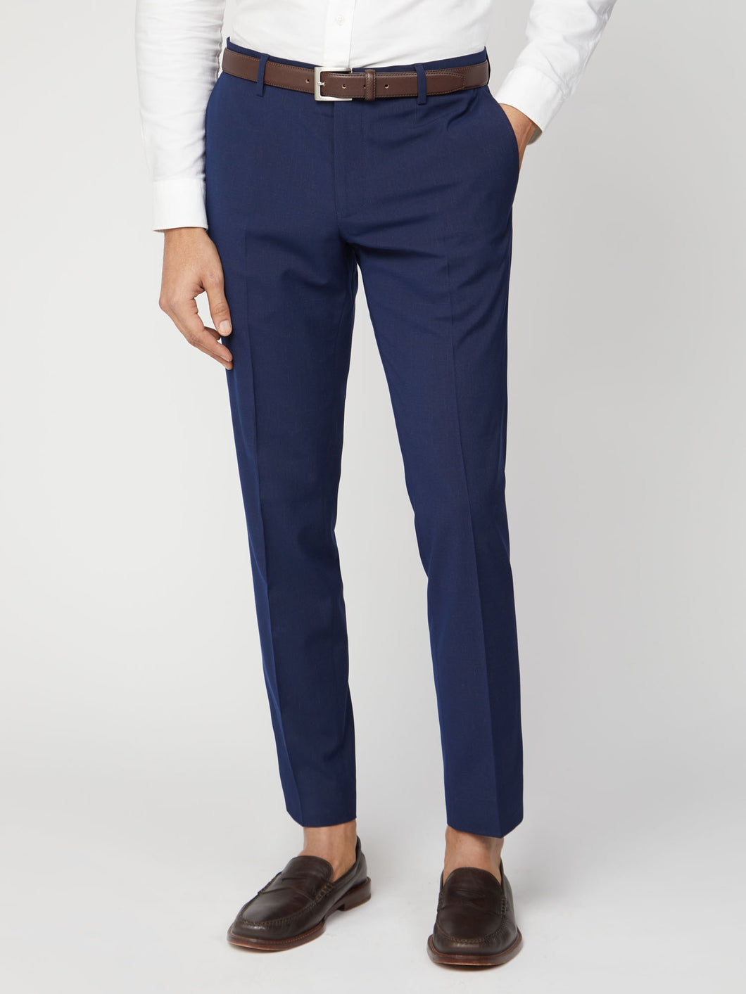 Blue Rust Fleck Trouser