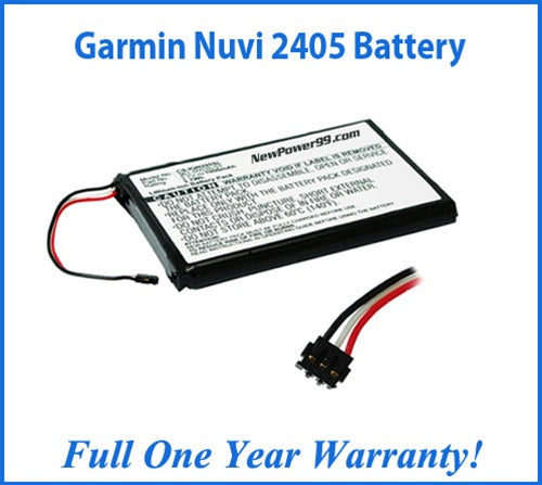 Garmin Nuvi 2405 Battery Replacement Kit with Tools, Video Instructions and Extended Life Battery - NewPower99 USA