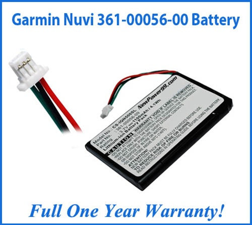 Battery Replacement Kit For Garmin Nuvi - 361-00056-00 - NewPower99 USA