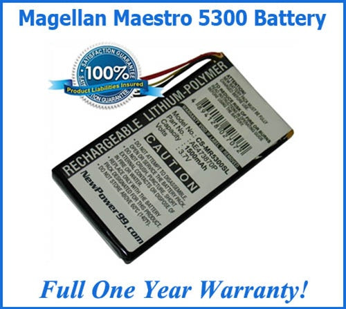 Battery Replacement Kit For The Magellan Maestro 5300 - NewPower99 USA