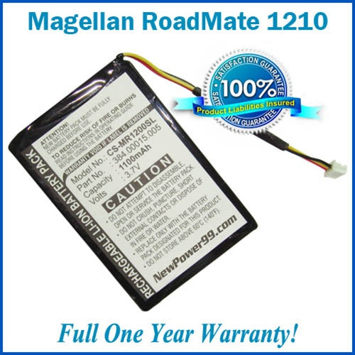Battery Replacement Kit For The Magellan RoadMate 1210 - NewPower99 USA