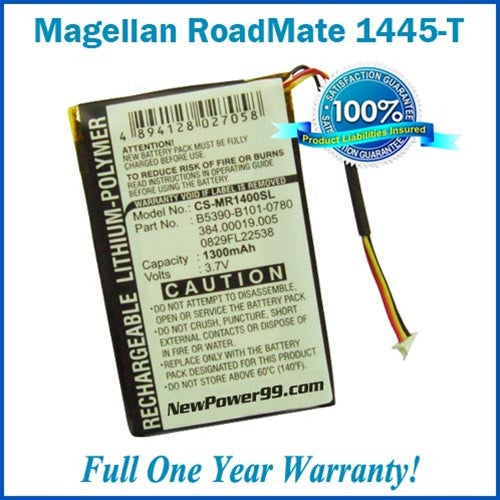 Battery Replacement Kit For The Magellan RoadMate 1445T - NewPower99 USA