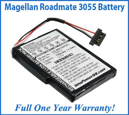 Magellan Roadmate 3055 Battery Replacement Kit with Tools, Video Instructions and Extended Life Battery - NewPower99 USA