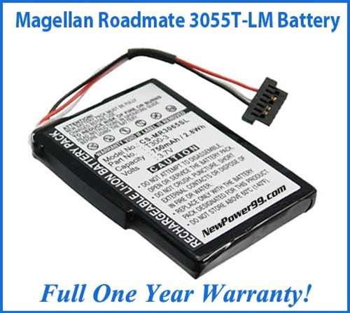Magellan Roadmate 3055T-LM Battery Replacement Kit with Tools, Video Instructions and Extended Life Battery - NewPower99 USA