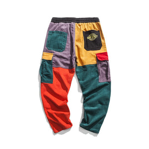 HEPTA Funky Multicolor Cargo Pants