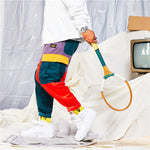 Load image into Gallery viewer, HEPTA Funky Multicolor Cargo Pants