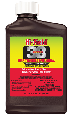 Hi Yield 38 PLUS TURF TERMITE AND ORNAMENTAL INSECT CONTROL (8 OZ)
